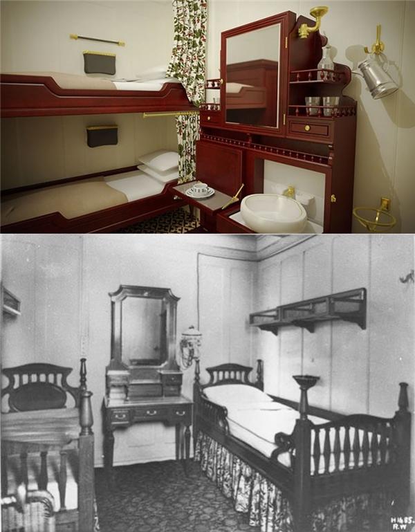 Phòng ngủ khoang hạng ba.