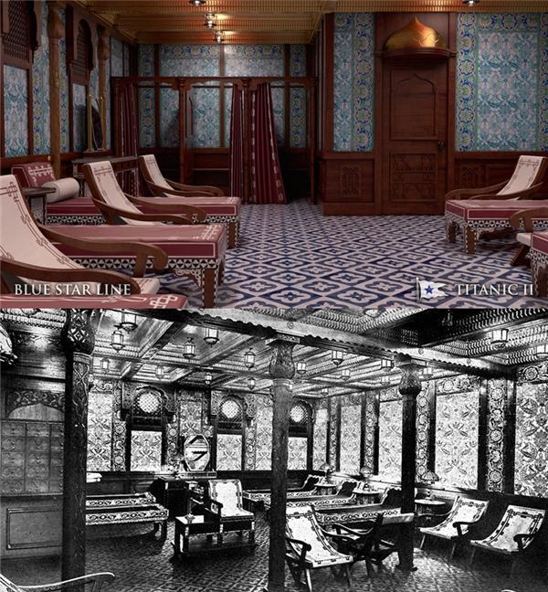 Khu nhà tắm theo phong cách Thổ Nhĩ Kỳ xa xưa.