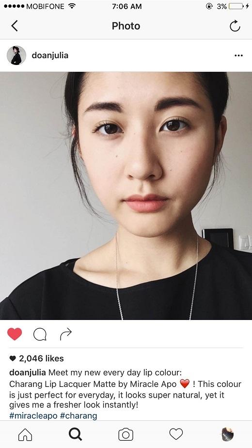 """Charang cũng chính là tông cam đất mà Julia Đoàn đang rất """"kết""""."""