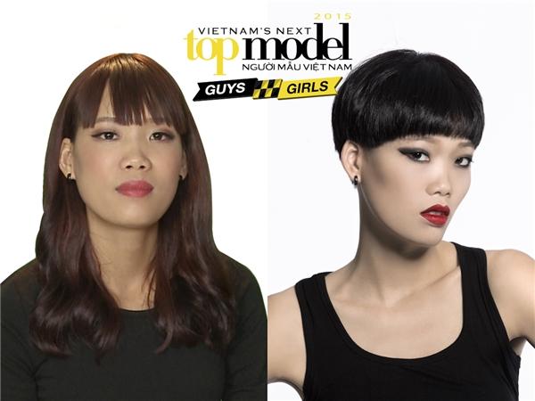 Nguyễn Hợp, cái tên gây tranh cãi nhiều nhất ở Vietnam's Next Top Model 2015.