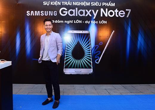 """Galaxy Note7 hút hồn"""" Sao Việt tại các sự kiện ra mắt người dùng"""