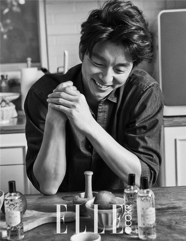 Gong Yoo là nam diễn viên trung thành với kiểu tóc này.(Ảnh: Internet)