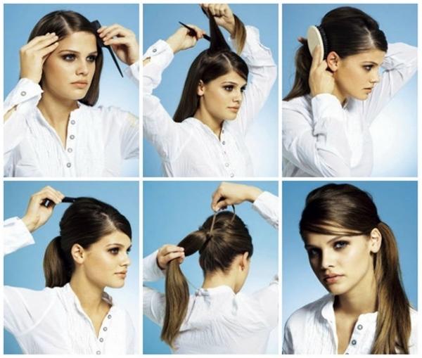 Biến tấu đơn giản chỉ với một chiếc lược, mái tóc trông nổi bật và tự nhiên hơn nhiều.