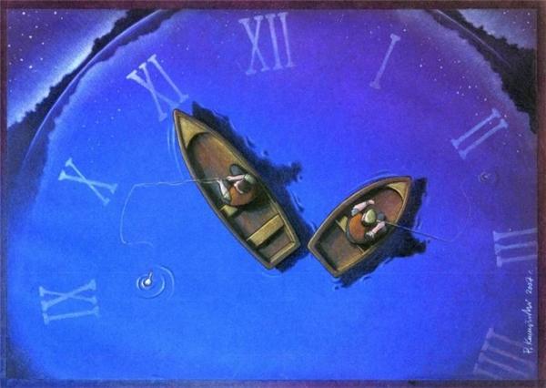 Sống cũng như đi câu trên biển thời gian. Hoặc là ta câu được thứ gì đó, hoặc là ta đã phí hoài thời gian của mình.