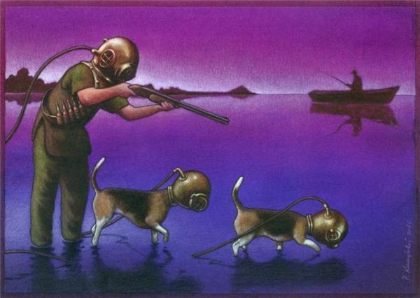 Nếu muốn ăn cá sao không thả câu mà lại dùng súng và thuốc nổ? Thiên nhiên đem đến nguồn sống cho con người, cớ sao con người chỉ muốn hủy diệt thiên nhiên?