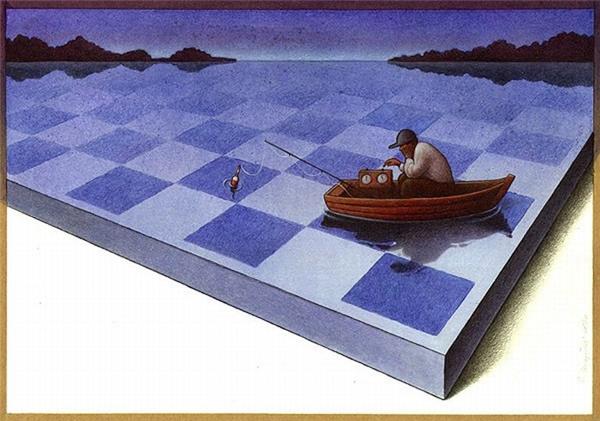 Cuộc đời giống như một ván cờ, bạn trôi dạt về đâu là do những đường đi nước bước của chính bạn.