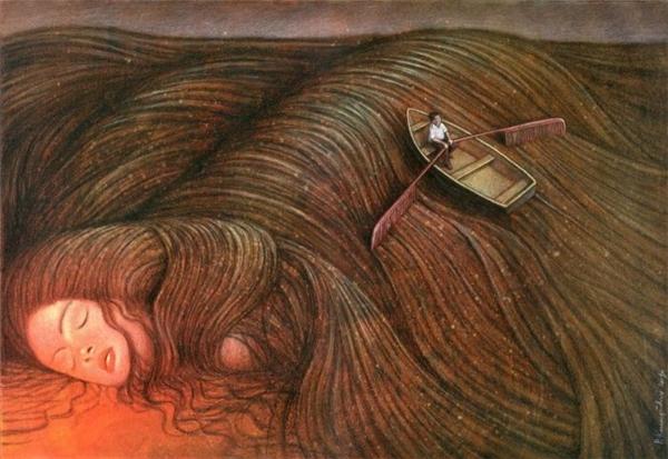 Khi yêu, người ta thường chìm trong biển tình, chìm đắm trong những gì đẹp đẽ nhất của người mình yêu.