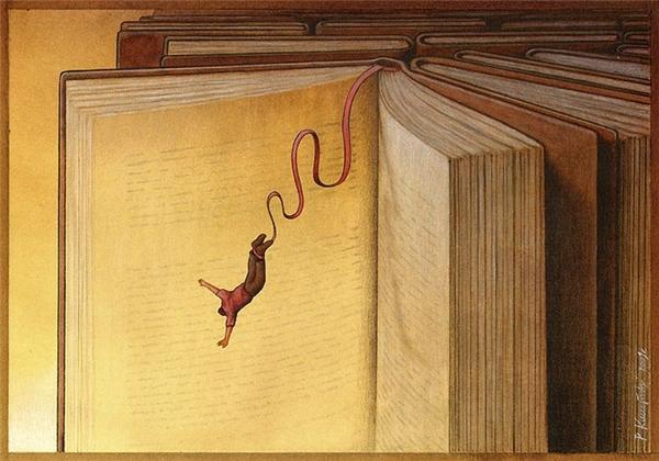 Nếu muốn nhảy, hãy nhảy xuống đại dương mênh mông của kiến thức. Nếu muốn chìm, hãy chìm đắm trong những trang sách.