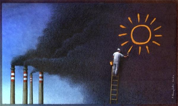 Con người đang tự giết nhau mỗi ngày và cũng tự lừa dối nhau mỗi ngày.