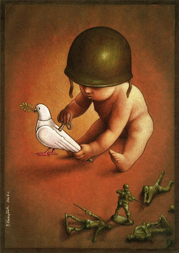 Yêu hòa bình hay yêu chiến tranh, tất cả đều xuất phát từ tâm hồn và trái tim của mỗi người. Mà tâm hồn và trái tim là gì nếu không phải là những thứ được nuôi dưỡng từ thời thơ ấu?