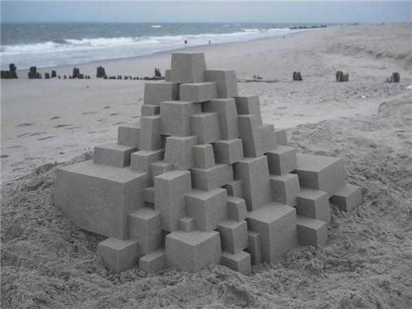 20. Lâu đài cát được xây dựng kỳ công nhất quả đất đây rồi.