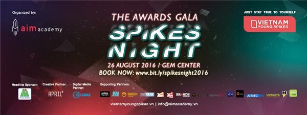 Bạn muốn được là người đầu tiên chứng kiến giờ phút đăng quang của những tên tuổi trẻ trong không khí của đêm hội sáng tạo tại GEM Center? Đăng ký ngay tấm vé tham dự đêm trao giải Awards Night của Vietnam Young Spikes 2016 tại đây.