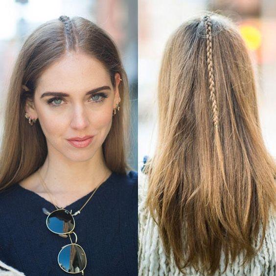 Một bím tóc nhỏ phía sau tóc sẽ khiến bạn trở nên cực kì duyên dáng trong mắt chàng đấy.
