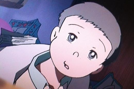 Bạn chỉ có thể thấy được đôi mắt thật sự của Nobita khi cậu ấytình cờ thức giấc thôi.