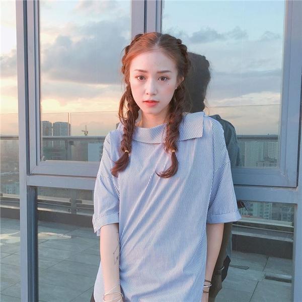 Cô gái nổi tiếng trên đất Hà thành.(Ảnh: Internet)
