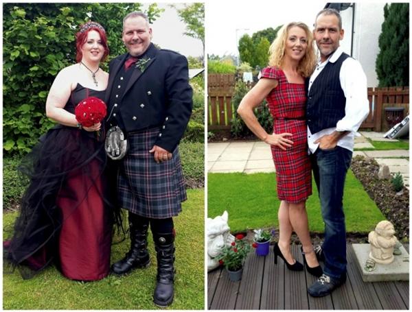 Mark và vợ của anh ấy đã giảm được tổng cộng 105kg.