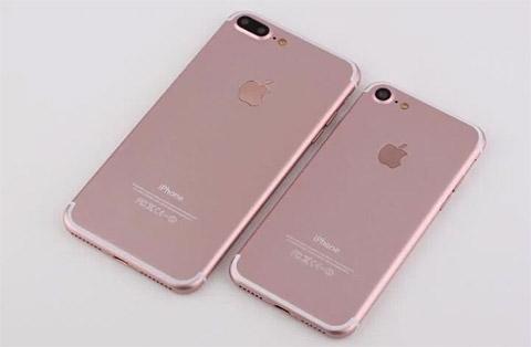 Apple chỉ ra mắt 2 phiên bản iPhone 7 vào tháng 9 tới. (Ảnh: internet)