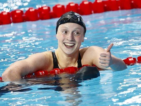 Được biết, Michael Phelps cũng là thần tượng lớn của cô gái này.(Ảnh: Internet)