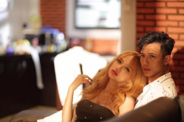 Hương Giang Idol nhanh tay cắt cảnh nóng sau khi MV bị sờ gáy - Tin sao Viet - Tin tuc sao Viet - Scandal sao Viet - Tin tuc cua Sao - Tin cua Sao