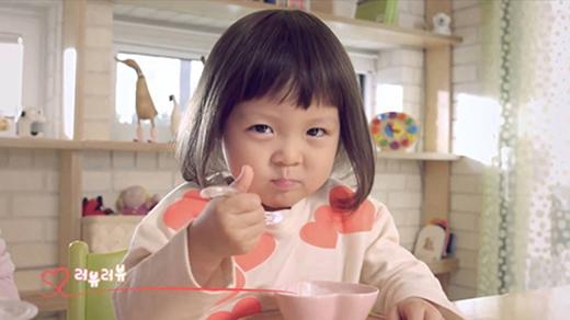 Mới đó mà nữ hoàng quảng cáo tí hon Choo Sarang đã lớn thế này rồi