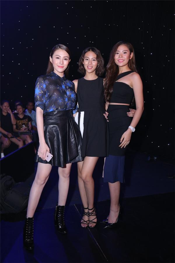 3 cô gái còn lại trong team Hà Hồ: Lê Hà, Phí Phương Anh và Chúng Huyền Thanh. - Tin sao Viet - Tin tuc sao Viet - Scandal sao Viet - Tin tuc cua Sao - Tin cua Sao