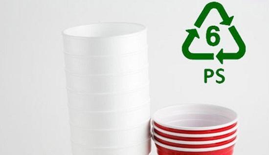 Nhựa PS. (Ảnh: internet)