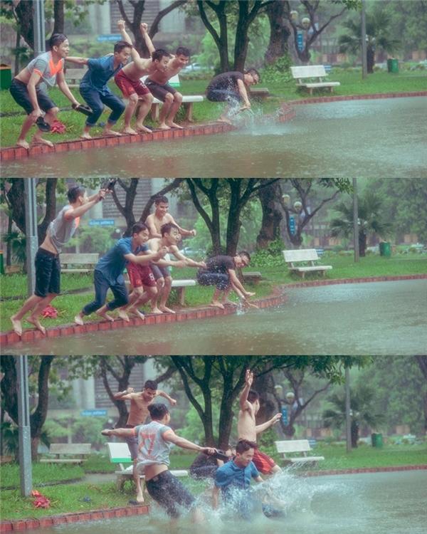 Những bức hình ghi lại khoảnh khắc vui vẻ của nhóm bạn trẻ này. (Ảnh: NVCC)