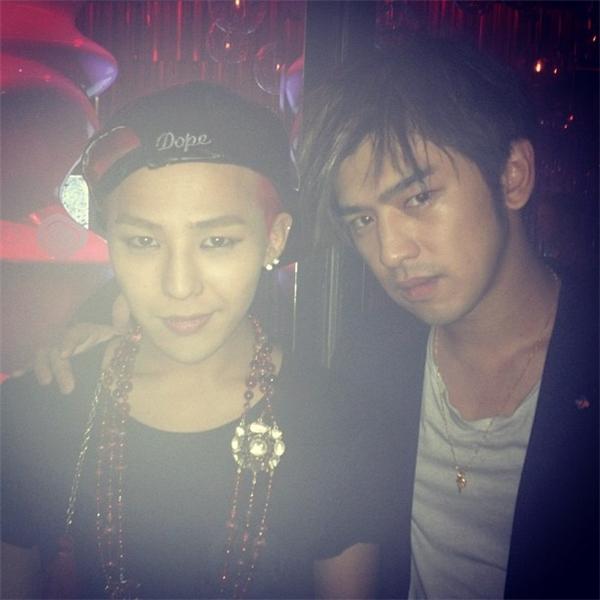 Ngoài ra, Trần Bách Lâm cũng là một trong những người bạn thân của G-Dragon