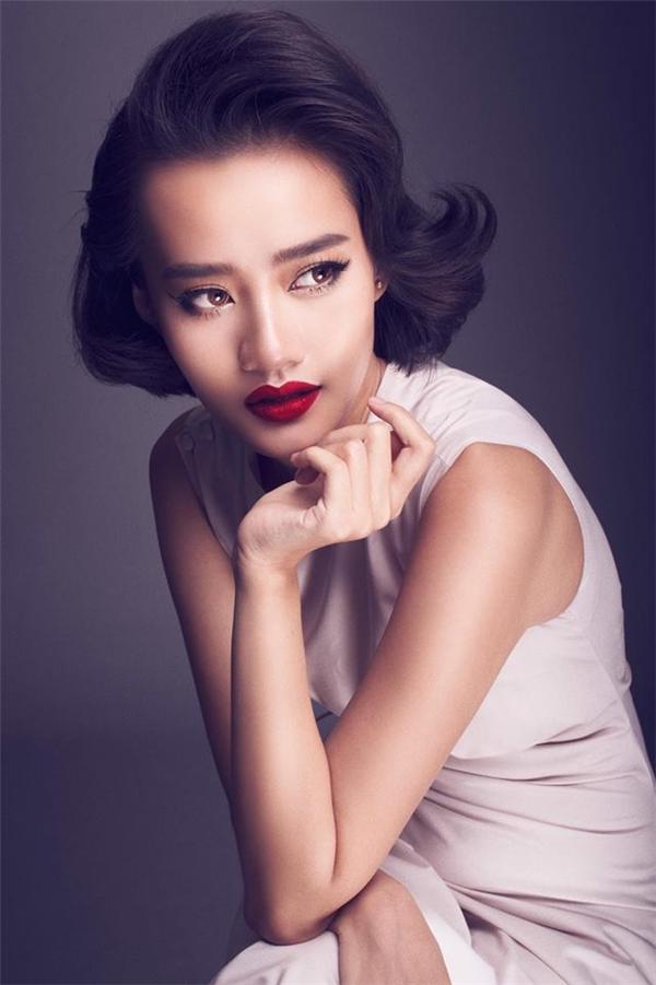 Bên cạnh Mai Ngô, Kim Chi cũng là thí sinh được Lan Khuê đánh giá cao, có khả năng đi đến cuối cùng.