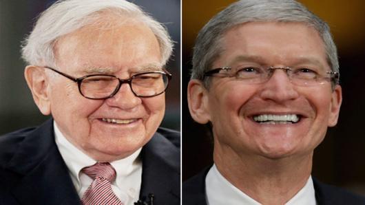 Tim Cook cũng đã tìm đến một nhân vật nổi tiếng khác để tìm lời khuyên. Đó chính là Warren Buffett của Beckshire Hathaway.