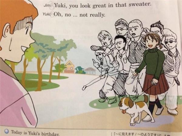 Con gái nhà người ta có cả một binh đoàn các ông anh trai chị em gái mặt mày bặm trợn thế này, không phải muốn tán tỉnh là được đâu nhé.
