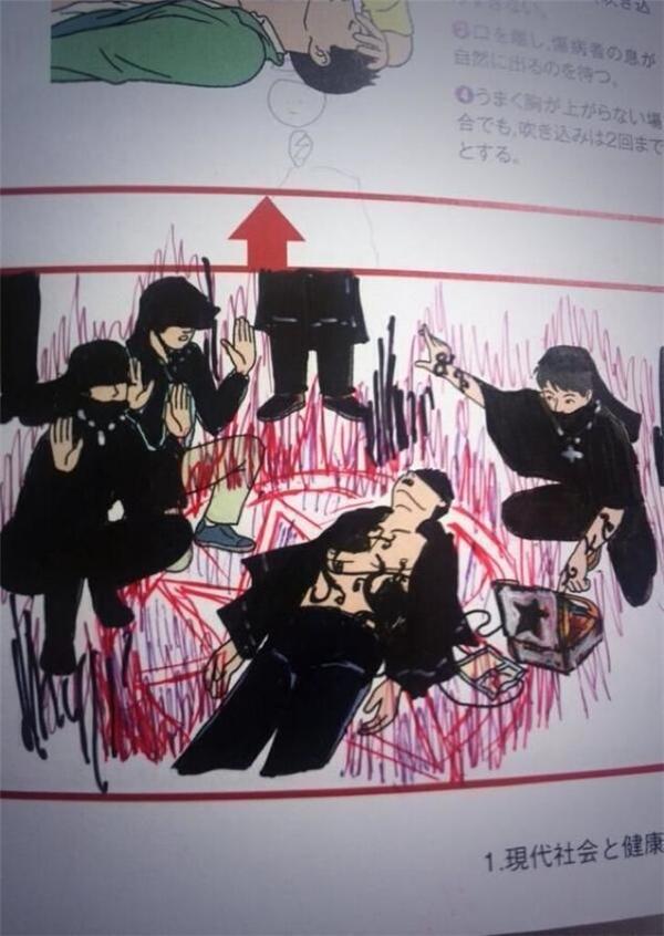 Một băng đảng ninja đang cử hành nghi lễ hồi sinh người chết.