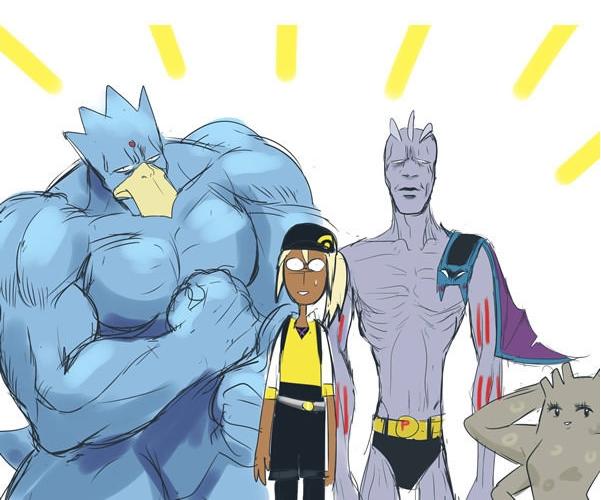 Sau loạt tranh này, liệu bạn có còn muốn sở hữu các Pokemon ngoài đời thực và cùng chúng phiêu lưu trên mọi nẻo đường như Ash và bạn bè mình nữa hay không?
