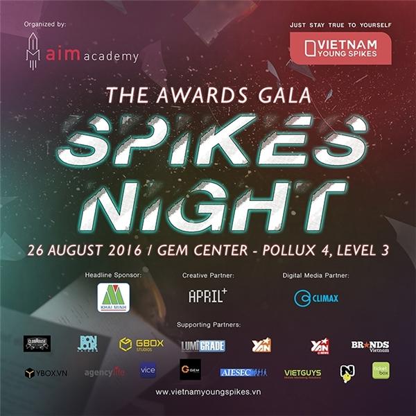 Spikes Night đêm hội sáng tạo sôi động không thể bỏ qua.