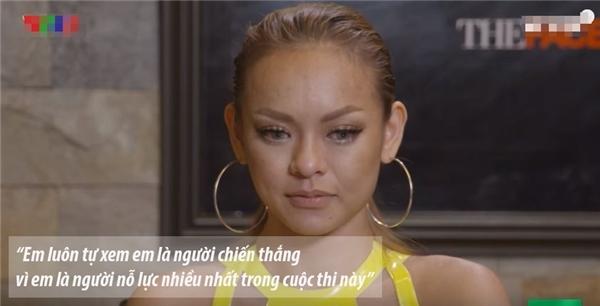 Trong dòng cảm xúc căng thẳng tột độ, Mai Ngô phân trần với Lan Khuê trước khi bước vào vòng loại trừ ở tập 9.