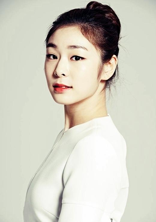 Kim Yuna với đôi mắt một mí xinh xắn.