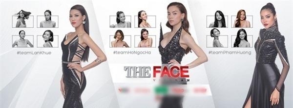 Hình Lê Hà bị bôi đen (ảnh trên) cho thấy đây là thí sinh tiếp theo bị loại. Tuy nhiên, sau đó ê-kípcủa The Face Vietnam đã tháo bỏ và thay thế bằng hình ảnh bên dưới.