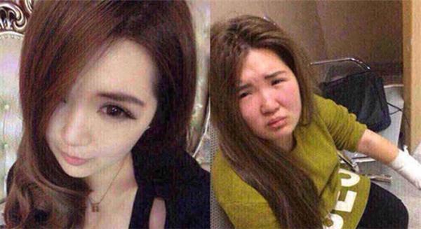 """Một cô gáiquê ở Tô Châu, Trung Quốckhiến nhiều người giật mình bởi câu chuyện bị bạn trai đánh không thương tiếc vì trang điểm """"lừa tình""""."""