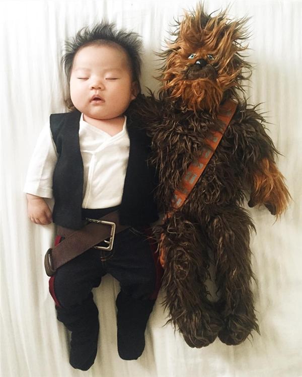Han Solo trong Star Wars nè