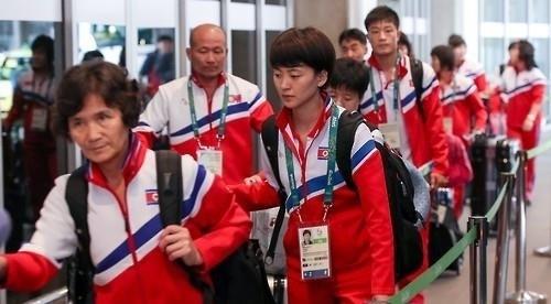VĐV Triều Tiên phải chịu sức ép thành tích rất lớn từ nhà lãnh đạo. (Ảnh: JohapNews)