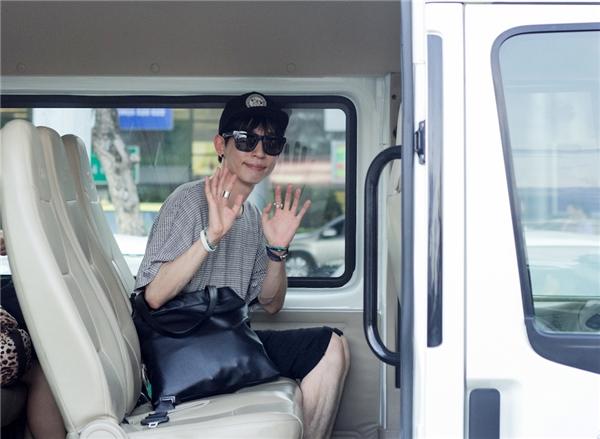 Hai thành viên nhóm From The Airport cũng đã có mặt tại Đà Nẵng.