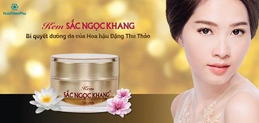 Sắc Ngọc Khang luôn đồng hành cùng hành trình tỏa sáng sắc đẹp Việt.