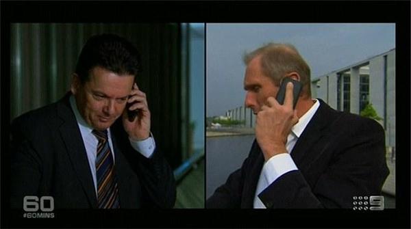 Vị nghị sĩ quốc hội Mĩ bị Nohl truy cập vào điện thoại một cách dễ dàng. (Ảnh: internet)