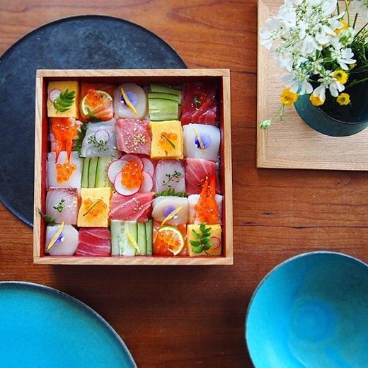 Dân mạng sốt với Mosaic sushi đẹp như tranh vẽ đến từ Nhật Bản