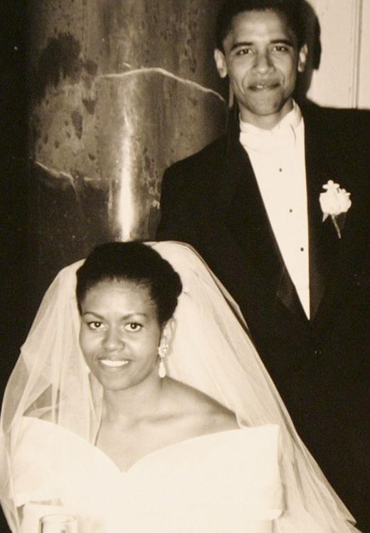 Ngày 18 tháng 10 năm 1992, Barack Obama và Michelle Obama đã chính thức kết hôn.