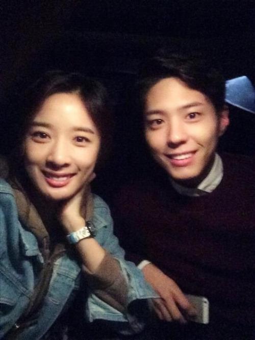 Lee Chung Ah là người chị thân thiết nhất của Park Bo Gum trong làng giải trí.