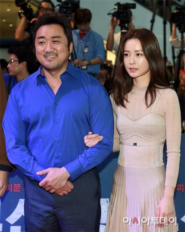 Yoo Mi đã gặp gỡ và kết thân với đàn anh Ma Dong Seok sau khi đóng chung Chuyến tàu sinh tử.