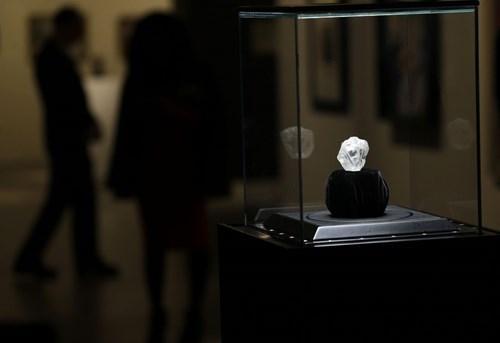 Lesedi la Rona đang được trưng bày tại Mĩ (Ảnh: internet)
