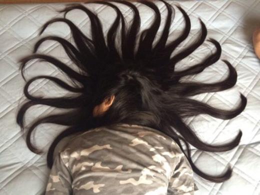 """Một kiểu tóc sáng tạo mà cũng vô cùng """"bá đạo"""" dành cho cô em mê ngủ"""