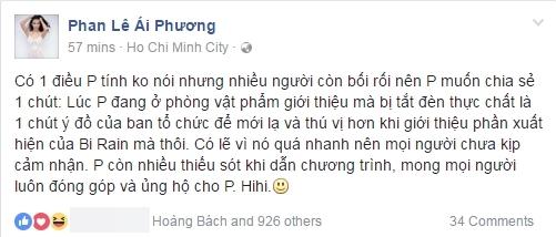 Đang nói bỗng im bặt, Ái Phương lên tiếng về sự cố chung kết HHVN - Tin sao Viet - Tin tuc sao Viet - Scandal sao Viet - Tin tuc cua Sao - Tin cua Sao